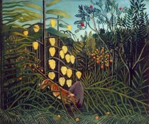 Henri_Rousseau_-_Combat_of_a_Tiger_and_a_Buffalo