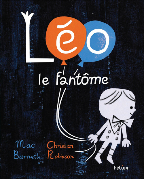 couv Léo fantôme