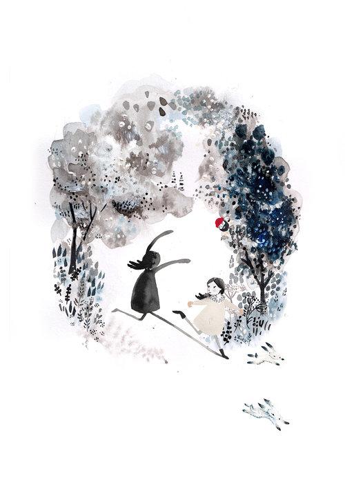 Hortense running